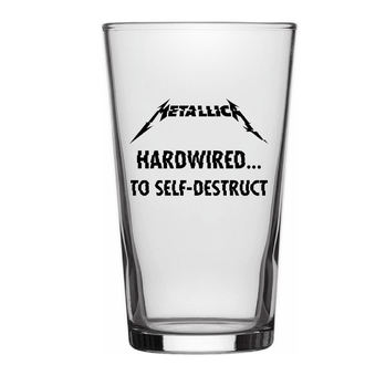Glas METALLICA - HARDWIRED TO SELF DESTRUCT - RAZAMATAZ, RAZAMATAZ, Metallica