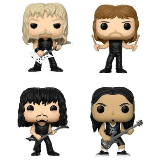 Figuren Set 4er Pack Metallica - Band, POP, Metallica