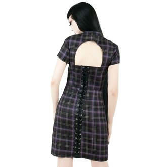 Damen Kleid KILLSTAR - Casey - TARTAN, KILLSTAR