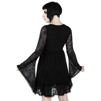 Damen Kleid KILLSTAR - CASKET CUTIE WEB - SCHWARZ, KILLSTAR
