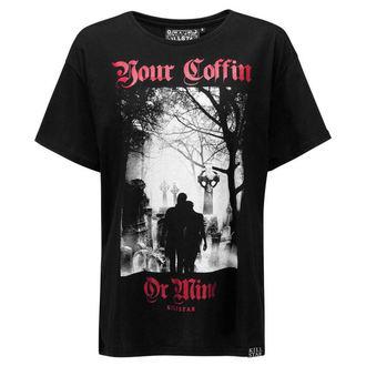 Unisex T-Shirt - Coffin Relaxed - KILLSTAR