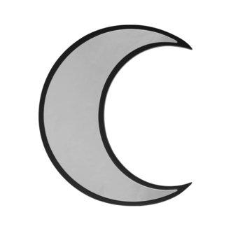 Spiegel (Dekoration) KILLSTAR - Crescent - SCHWARZ, KILLSTAR