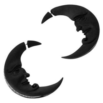 Ohrringe KILLSTAR - Crescent moon - SCHWARZ, KILLSTAR