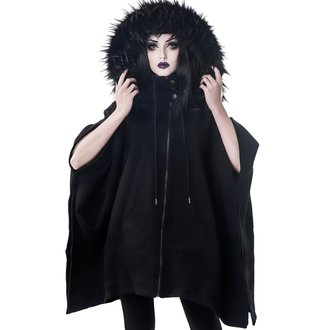 Damen Poncho - Crypt Keeper Faux - KILLSTAR, KILLSTAR