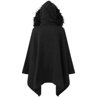 mikina dámská (pončo) KILLSTAR - Crypt Keeper Faux - BLACK