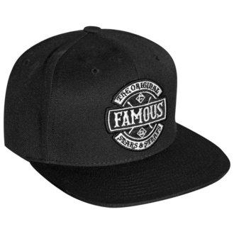 Cap FAMOUS STARS & STRAPS - CHAOS - SCHWARZ, FAMOUS STARS & STRAPS