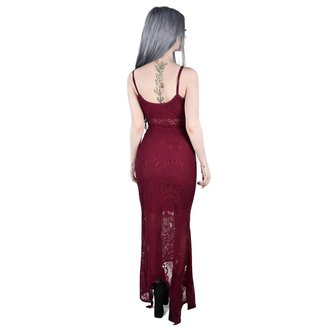Damen Kleid KILLSTAR - Deadly Beloved - WEIN, KILLSTAR