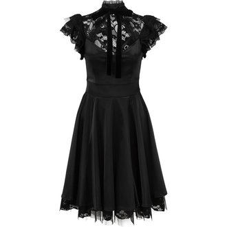 Damen Kleid KILLSTAR - DEAR DARKENESS - SCHWARZ, KILLSTAR