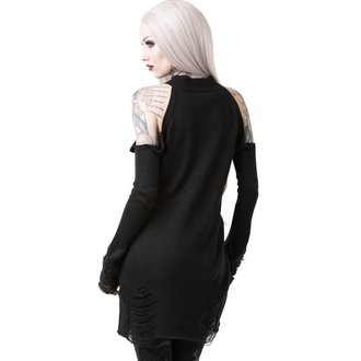 Damen Pullover KILLSTAR - DEPTHS OF DARKNESS - SCHWARZ, KILLSTAR