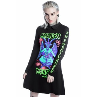 Damen Kleid KILLSTAR - MARILYN MANSON - DevilOn Tour - Schwarz, KILLSTAR, Marilyn Manson