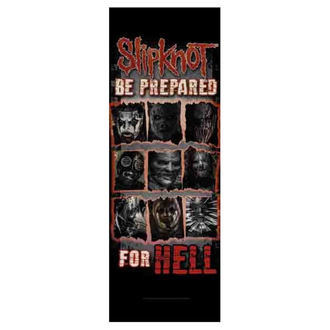 Flagge Slipknot - Be Prepared for Hell, HEART ROCK, Slipknot