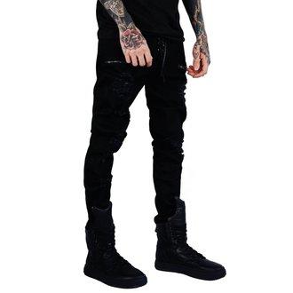 Unisex Hose KILLSTAR - Diablo Jeans - SCHWARZ, KILLSTAR