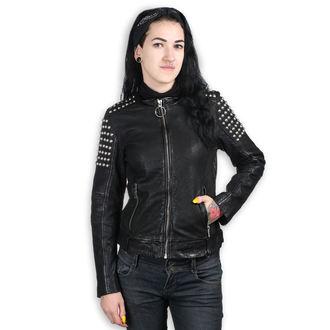 Damen Lederjacke AC-DC - BLACK - NNM