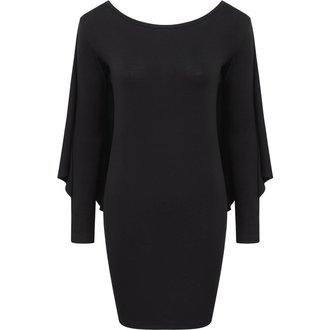 Damen Kleid KILLSTAR - DRACUL MINI - SCHWARZ