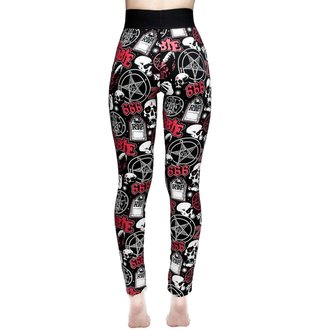 Damen Leggings KILLSTAR - ROB ZOMBIE - Schatz - SCHWARZ, KILLSTAR, Rob Zombie