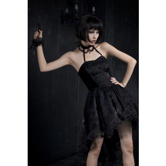 Damen Kleid PUNK RAVE - Black Nymph, PUNK RAVE