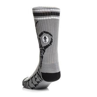 Socken SULLEN - OKAY BONES - GRAU, SULLEN