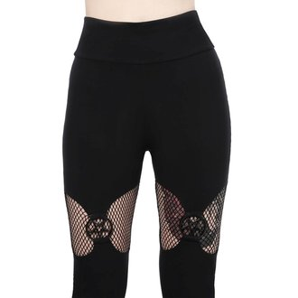 Damen Leggings KILLSTAR - ELECTRA - SCHWARZ, KILLSTAR