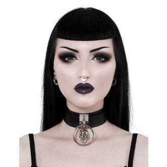 Halsband KILLSTAR - Elena Skull - SCHWARZ, KILLSTAR