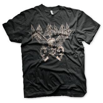 Herren T-Shirt Metal Def Leppard - Flying Skulls - HYBRIS