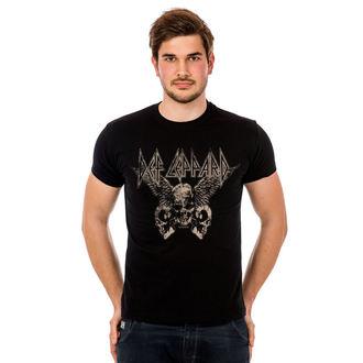 Herren T-Shirt Metal Def Leppard - Flying Skulls - HYBRIS, HYBRIS, Def Leppard