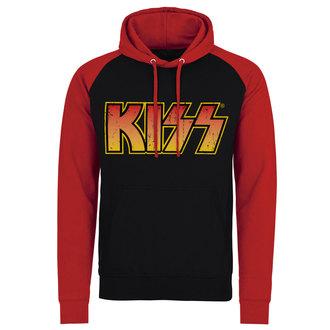 Herren Hoodie Kiss - Distressed Logotype - HYBRIS, HYBRIS, Kiss