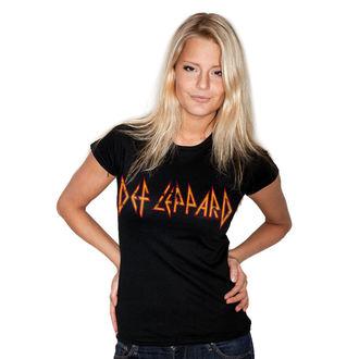 Damen T-Shirt Metal Def Leppard - Distressed - HYBRIS, HYBRIS, Def Leppard