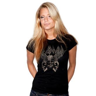 Damen T-Shirt Metal Def Leppard - Flying Skulls - HYBRIS, HYBRIS, Def Leppard