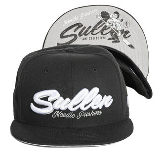 Cap SULLEN - NEEDLE PUSHER - SCHWARZ, SULLEN