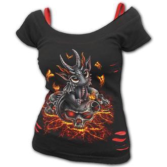 Damen T-Shirt - STRANDED - SPIRAL, SPIRAL