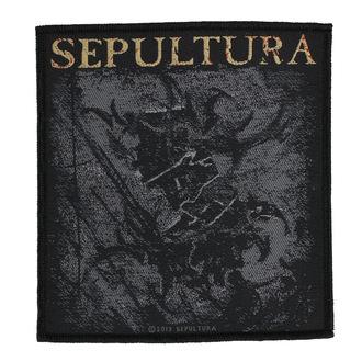 Aufnäher SEPULTURA - THE MEDIATOR - RAZAMATAZ, RAZAMATAZ, Sepultura
