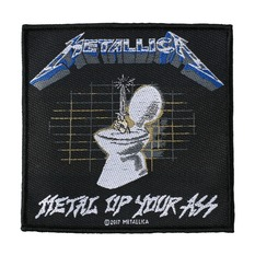 Aufnäher METALLICA - METAL UP YOUR ASS - RAZAMATAZ, RAZAMATAZ, Metallica