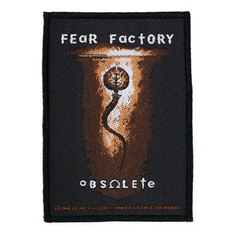 Aufnäher FEAR FACTORY - OBSOLETE - RAZAMATAZ, RAZAMATAZ, Fear Factory