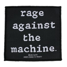 Aufnäher RAGE AGAINST THE MACHINE - LOGO - RAZAMATAZ, RAZAMATAZ, Rage against the machine