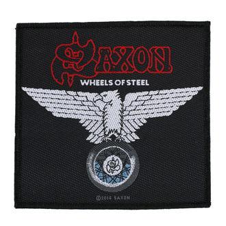 Aufnäher SAXON - WHEELS OF STEEL - RAZAMATAZ, RAZAMATAZ, Saxon