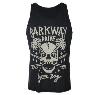Herren Tanktop Parkway Drive - Skull Palms - Holzkohle - KINGS ROAD, KINGS ROAD, Parkway Drive
