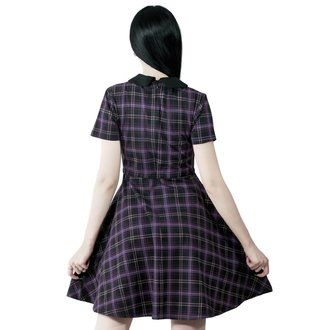 Damen Kleid KILLSTAR - Feri - TARTAN, KILLSTAR