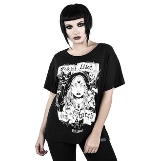 Damen T-Shirt - FIGHT LIKE A WITCH - KILLSTAR, KILLSTAR