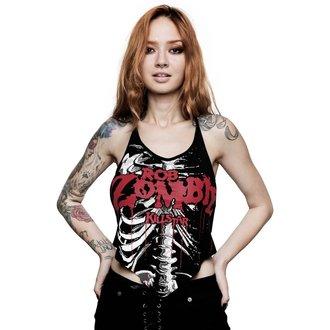 Damen Tanktop KILLSTAR - ROB ZOMBIE - Foxy Gebeine Rocker - SCHWARZ, KILLSTAR, Rob Zombie