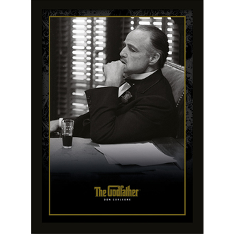 Poster mit Bilderrahmen - The Godfather - Don Corleone - PYRAMID POSTERS, PYRAMID POSTERS