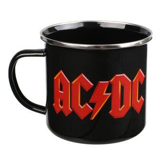 Blechtasse Becher AC / DC - Logo, AC-DC