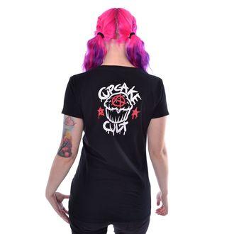 Damen T-Shirt - FALLING BUNNIES - CUPCAKE CULT, CUPCAKE CULT