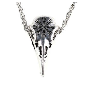 Halskette mit Anhänger Rabe, FALON