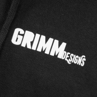 Unisex Hoodie - BILLY THE BIKER - GRIMM DESIGNS