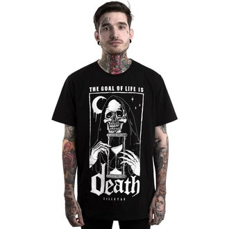 Herren T-Shirt KILLSTAR - GOALS - SCHWARZ, KILLSTAR