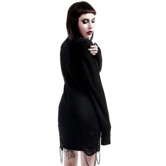 Damen Pullover KILLSTAR - Hell In Harlow Distress Knit - Schwarz, KILLSTAR