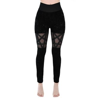 Damen Leggings KILLSTAR - HELLION - SCHWARZ, KILLSTAR
