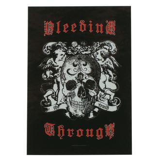 Flagge Bleeding Through - Truth, HEART ROCK, Bleeding Through