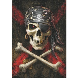 Flagge Anne Stokes - Pirate Skull, ANNE STOKES