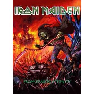 Flagge Iron Maiden - from Fear to Eternity, HEART ROCK, Iron Maiden